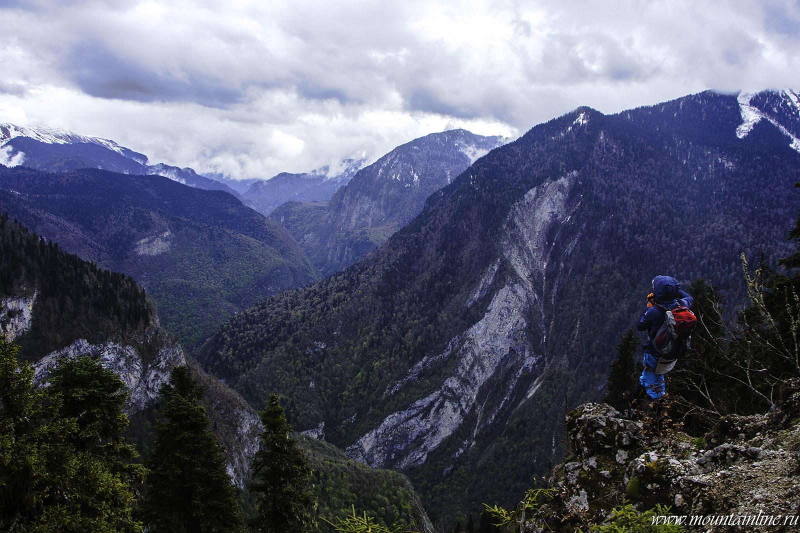 походы горы абхазии бзыбь