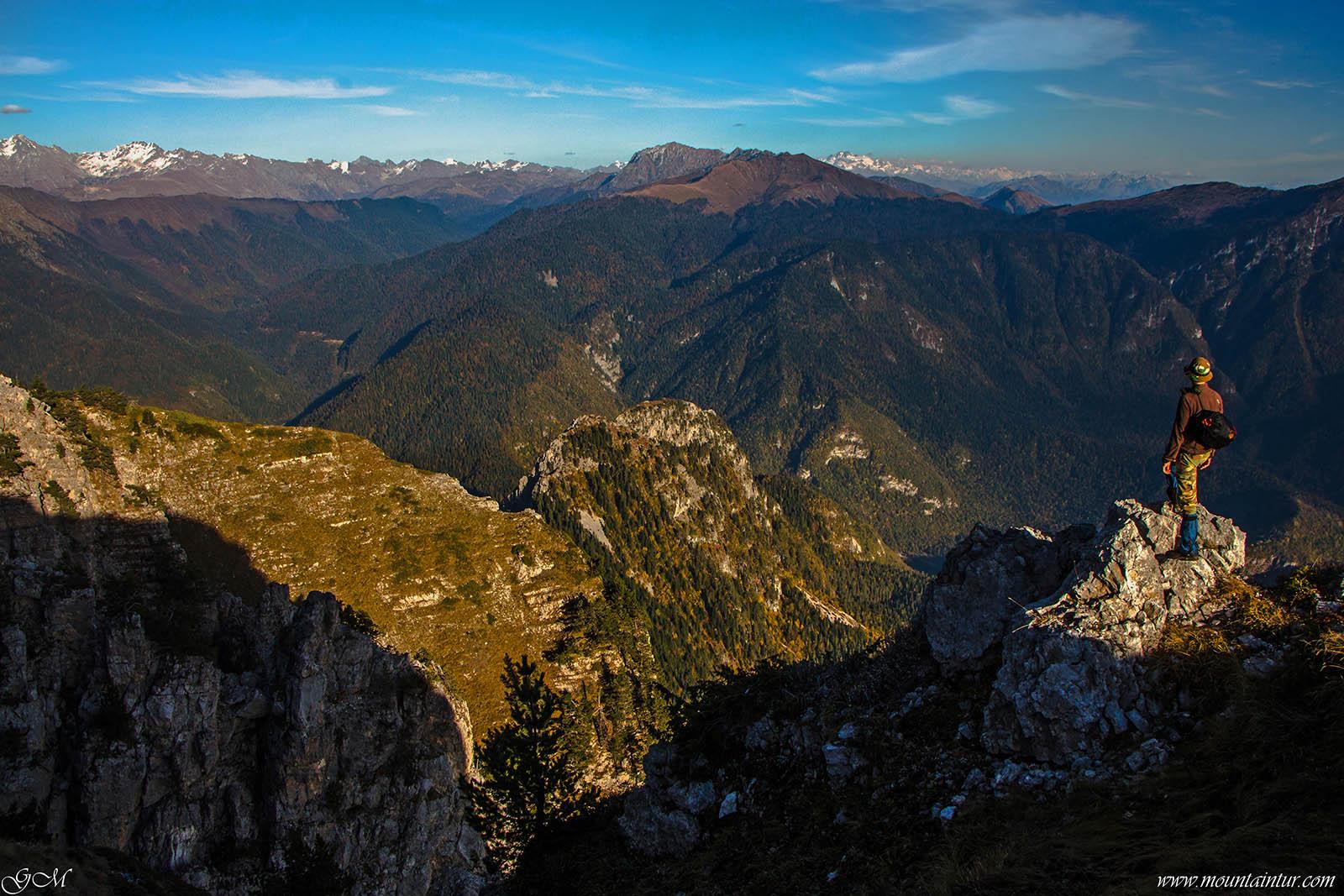 походы горы абхазии Мамзышха