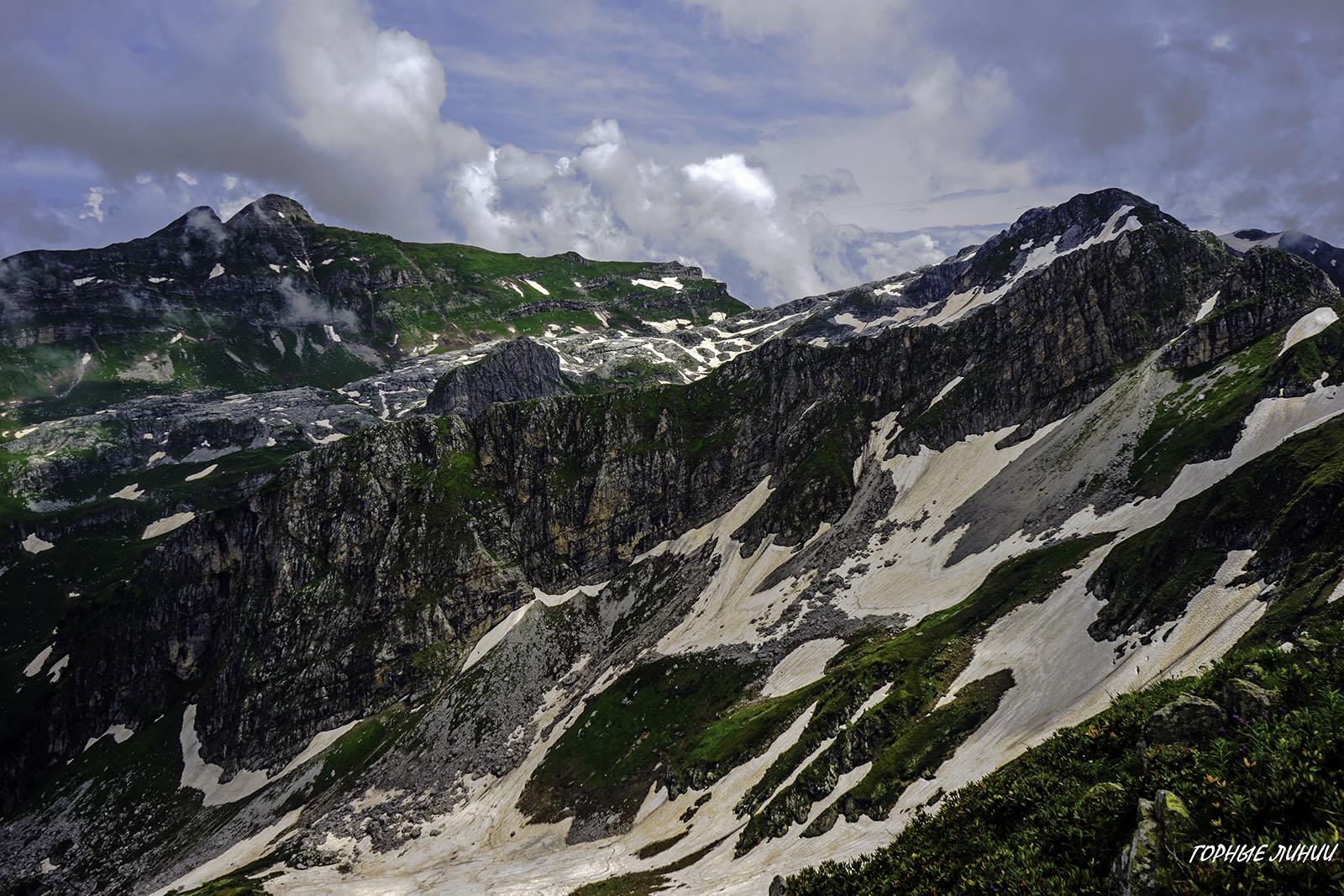 Походы в горы Абхазии. Ах Аг, Чолгон