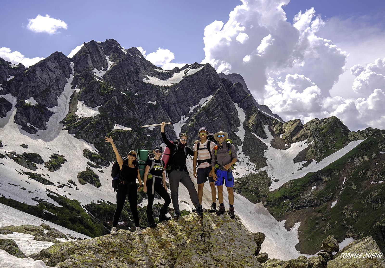 Походы в горы Абхазии. Ацетука.