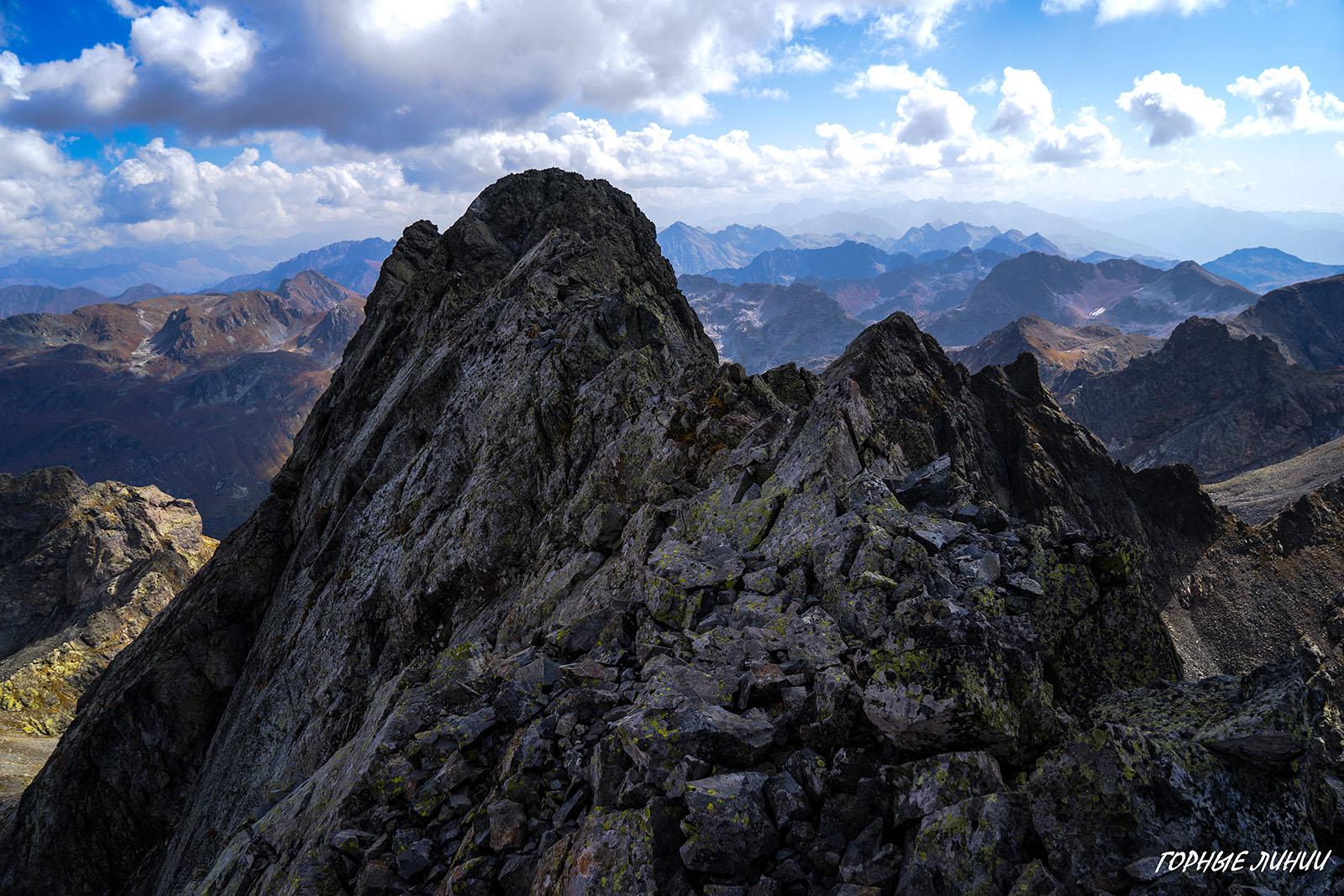Походы в горы Сочи и Абхазии. Кардывач главный
