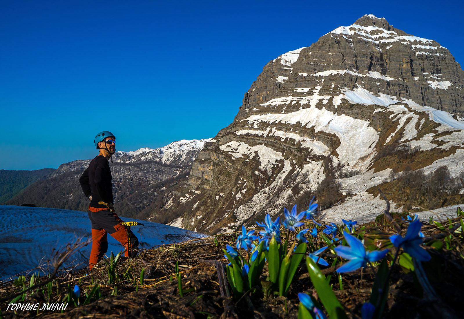 Походы в горы Абхазии. Ахибаху