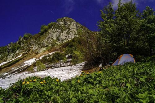 Лагерь на Ачипсте