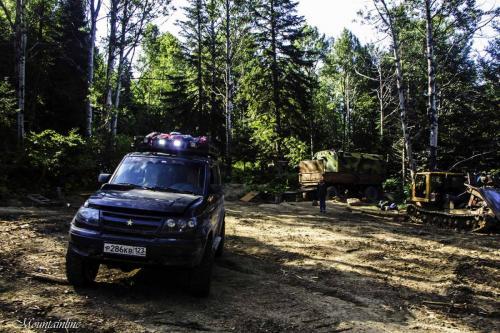 Лесовозная заброска