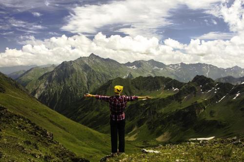 Цахвоа с вершины Аишха 1