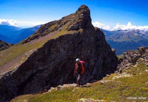 Походы в горы Сочи и Абхазии. Пик Сочи