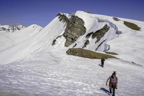 Походы в горы Абхазии. Берчиль. Кушон.